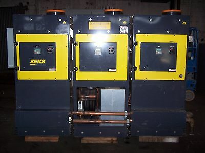 Zeks 6000Hsfmw400 True-Cycling Refrigerated Compressed Air Dryer Lot Of 3