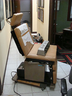 Medical Examination Procedure Motorized Electric Ritter 8500 Chair Table Nr