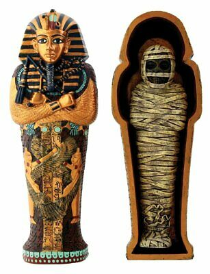 Egyptian King Tut Coffin - Collectible Figurine Statue Figure Egypts