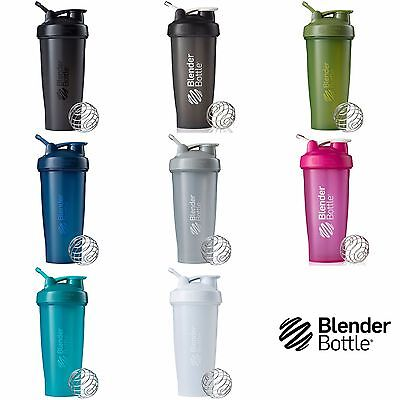 Blender Bottle Classic 28 Oz Shaker With Loop Top Blender Mixer Cup Colors