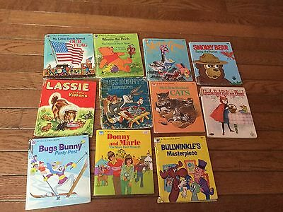 Lot of 11 whitman tell a tale books vintage