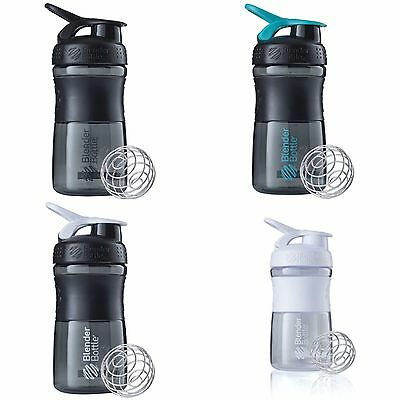 Blender Bottle SportMixer 20 oz. Shaker Blender Mixer Tritan Grip Color
