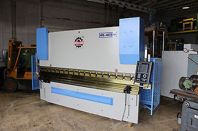 New Hoston 176 Ton x 12' Delem DA 56s 4 Axis CNC Press Brake