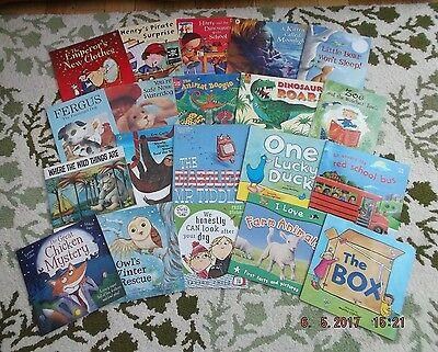 Children'S Pre-School Picture/story/topic Book Bundle X 20. V.g. Condition.