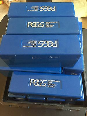 Lot of 1 PCGS Blue Box Plastic Holder (30 Available)