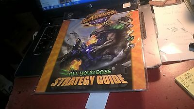 Monsterpocalypse Series 3 All Your Base Strategy Guide Factory Sealed w/ Map