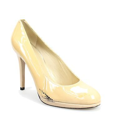 Stuart Weitzman Beige Shoes Size 10M Pumps Patent Leather Heels $325- #088