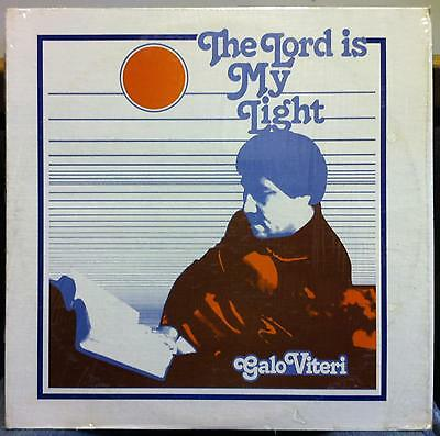 Galo Viteri - The Lord Is My Light LP VG+ PB 1411 Private IL/IN Xian Record 1st