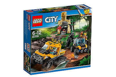 LEGO City Mission mit dem jungle half-track