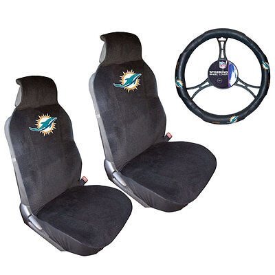 Fantastic Nfl Miami Dolphins Car Truck Floor Mats Headrest Covers Pabps2019 Chair Design Images Pabps2019Com