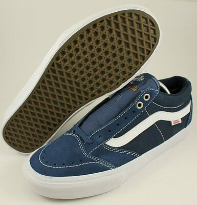 New Vans Blue/White Mens Shoes Size 8.0 8