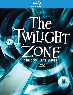 THE TWILIGHT ZONE COMPLETE SERIES Sealed New Blu-ray Seasons 1 - 5 1 2 3 4 5