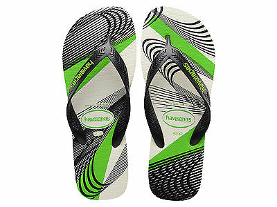 Ciabatte Infradito Uomo Havaianas Estate 4132592 0128  Aero Graphic White/ Black