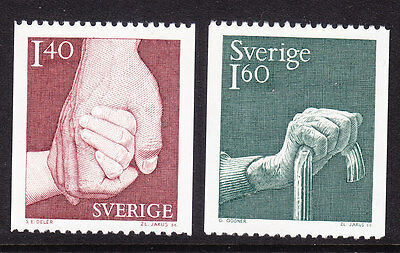 Sweden 1980 - Care - Complete set - MNH
