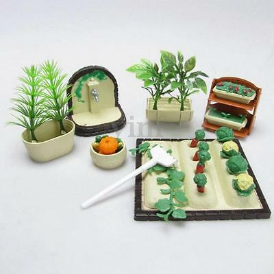 Miniature Gardening Vegetables Doll House Furniture Outdoor Accessory Toys Set