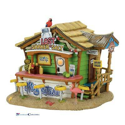 Dept 56  Margaritaville 4058489 Lost Shaker Salt Bar Jimmy Buffett 2017