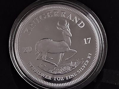 2017 S Africa PROOF Silver Krugerrand - 50th Anniversary - 15,000 exist - SEALED