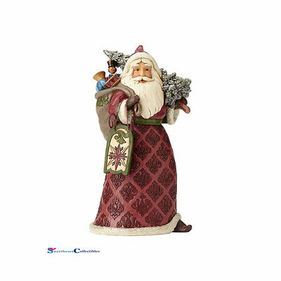 Jim Shore Heartwood Creek 4058751 Victorian Santa with Sled, Toys 2017