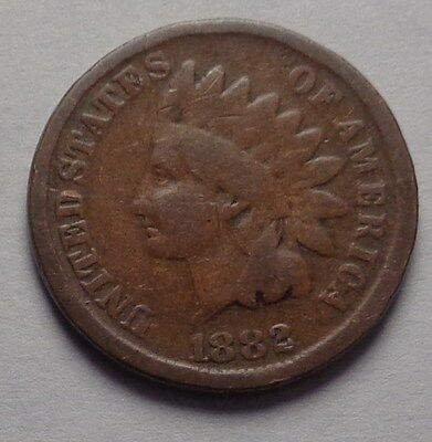 1882 Indian Head Cent,nice Coin!!!(S)