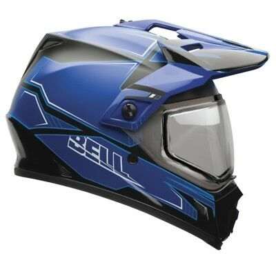 2 Colors BELL MX-9 Adventure Off-Road Helmet, Snow  Part# 7075946 XL