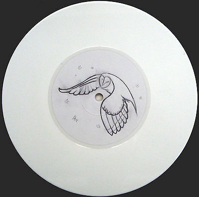 """MARY EPWORTH 7"""" Snow Queen WHITE Vinyl 250 Made w/ PROMO INFO SHEET"""