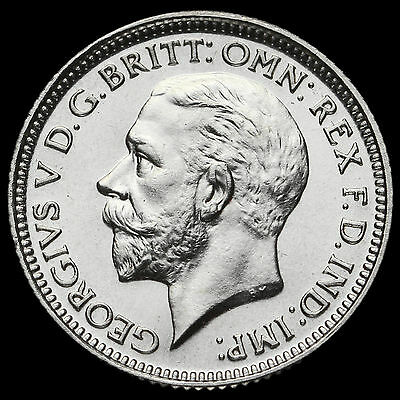 1927 George V Proof Silver Sixpence #2