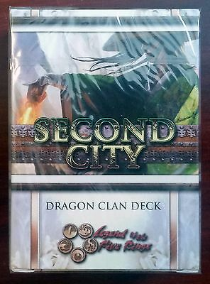 L5R legend of the five rings ccg - sealed Second City DRAGON clan starter deck
