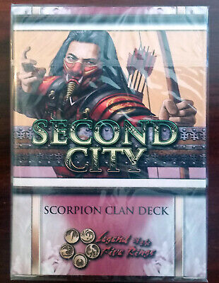L5R legend of the five rings ccg - sealed Second City MANTIS clan starter deck