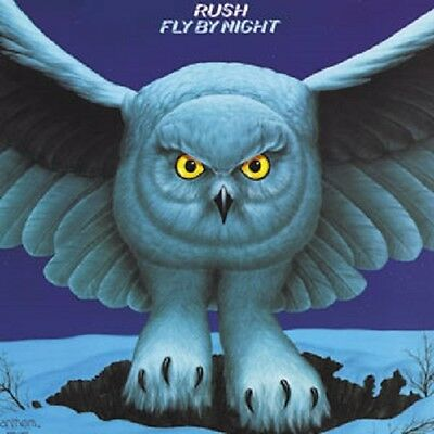 Rush Photo Quality Magnet: Fly by Night