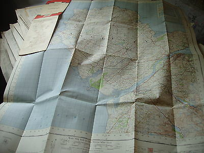 Wales: Anglesey, Ynys Mon:1St True Post War Ordnance Map 1962+ As Railways Close