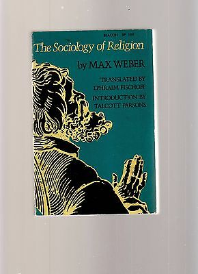 Sociology Of Religion By Max Weber- Paperback Book