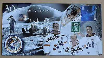 Apollo 15 30Th Anniversary 2001 Cover Signed Astronauts Dave Scott & Al Worden