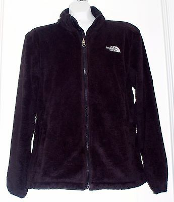 The North Face Women's Size XL Osito Fleece Full Zip Jacket Black