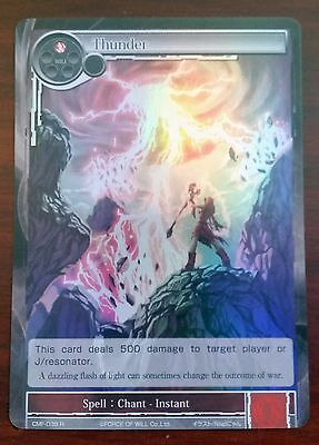 FoW Force of will CMF-038 R Thunder foil rare