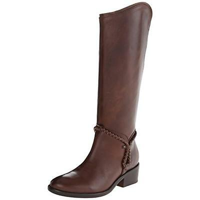 Ariat 5516 Womens Calgary Brown Leather Riding Boots Shoes 11 Medium (B,M) BHFO