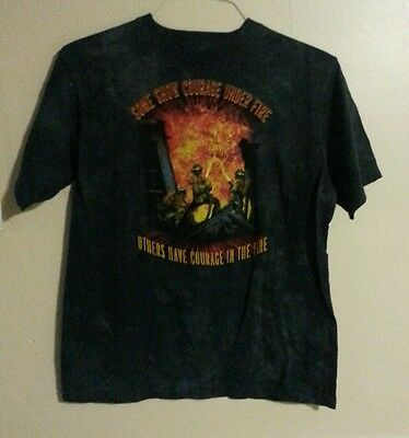 The Mountain Firefighter Graphic T-shirt Youth XL