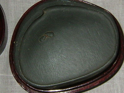 Antique Chinese Calligraphy Carved Ink Stone With Fitted Hard Wood Case