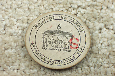 Huntsville Alabama Wooden Nickel Restaurant & Lounge