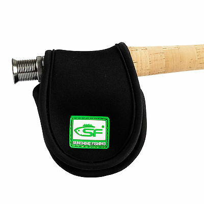 SF 5/6 wt Fly Fishing Rod Reel Case Bag Pouch Cover Glove Neoprene