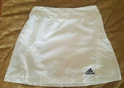 GIRLS ADIDAS WHITE TENNIS SKIRT  sz 14