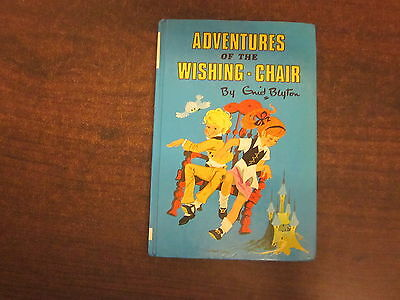 ADVENTURES OF THE WISHING CHAIR by Enid Blyton 1983 #34  Dean Son HC Book