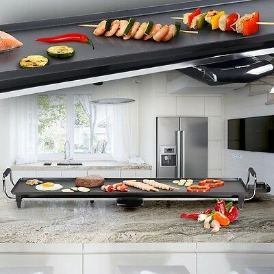 Japanese Roasting pan Teppanyaki Grill plate Tabletop XXL Heating Yakisoba