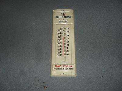 Vintage Mohler's Tractor & Equip. Co. Thermometer Advertising Sign