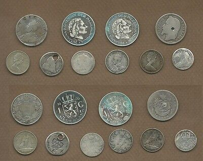 1866-1968 Troubled Silver Coin lot of 10