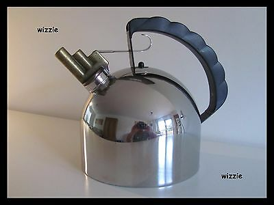 ALESSI : Harmonica Melodic Tea Kettle 2 ltr / Richard Sapper