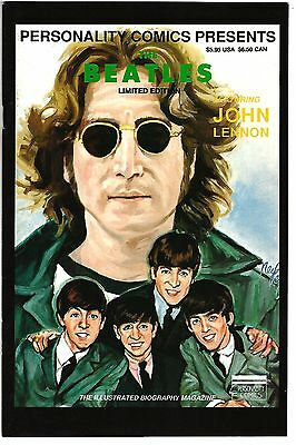 Personality Comics Presents Beatles: John Lennon #1 (FN/VF)  Diamond Ltd Edition