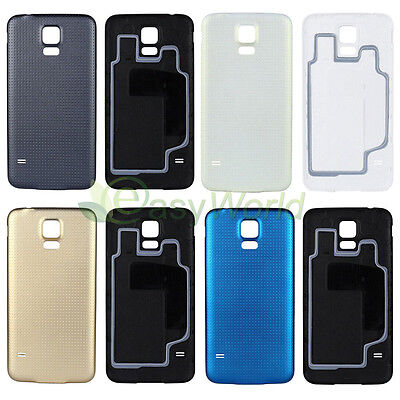 Original OEM Housing Back Door Battery Cover Case For Samsung Galaxy S5 SV i9600