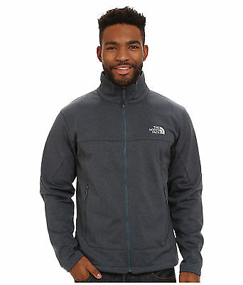 New Men's The North Face Canyonwall Jacket Coat Blue Heather Large