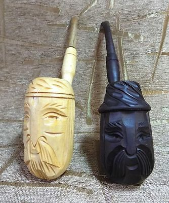 Tobacco pipe hand made smoking new pipes lot of 2