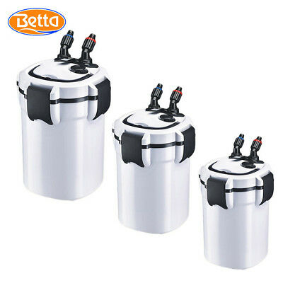 Aquarium External Filter Canister - FREE Media - 3 Sizes - Fish Tanks up to 540L